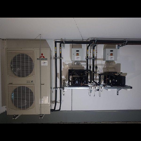 Klimaanlage für einen Becker / Eismacher im Landkreis Eichstätt 01